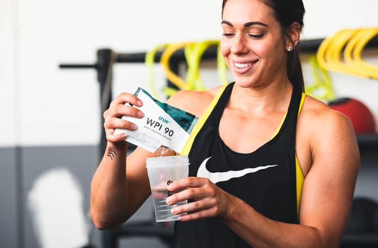 Girl Athlete Opening WPI90 Sample