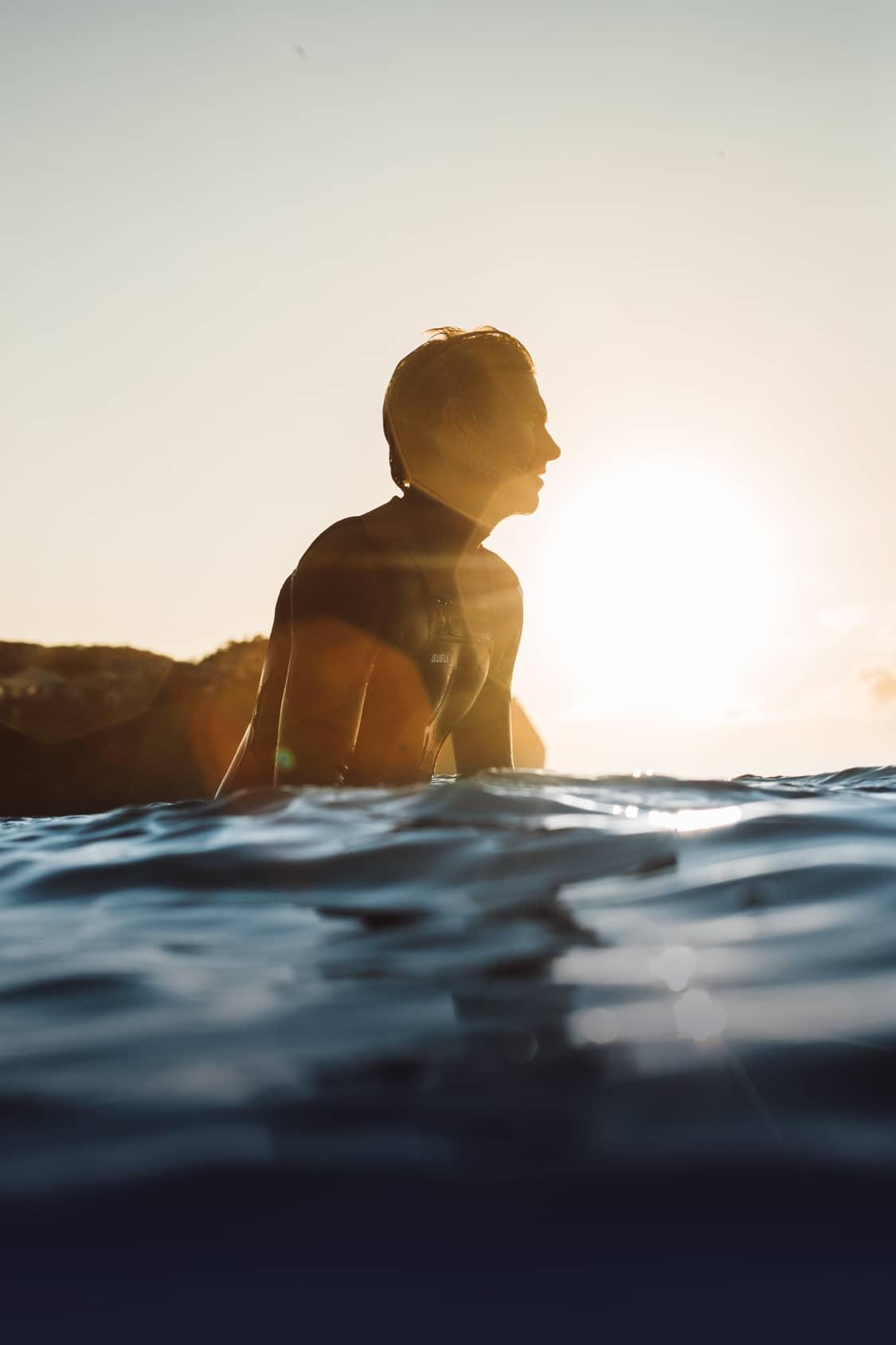 Ace Buchan Surfing