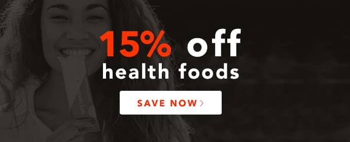 Health Foods Sale Banner