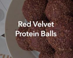 Red Velvet Protein Balls